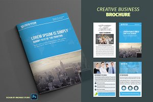 Corporate Bifold Brochure Vol 06
