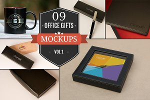 Gorgeous Office Gift Mockups Vol. 1
