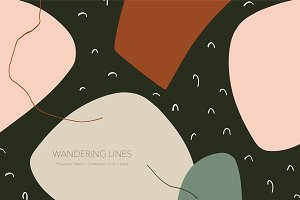 Wandering Lines | Boards + Patterns