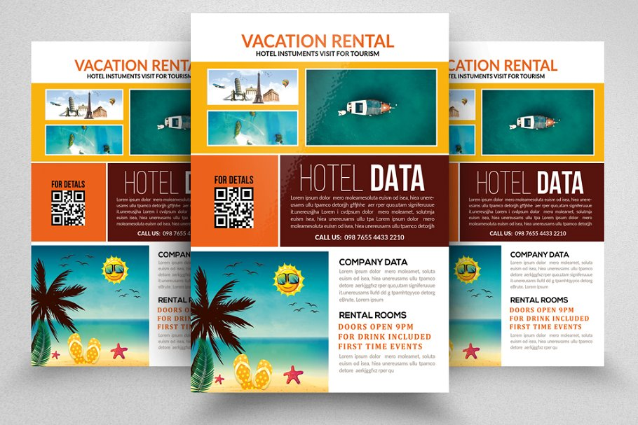 Holiday Tour/Travel Flyer Template