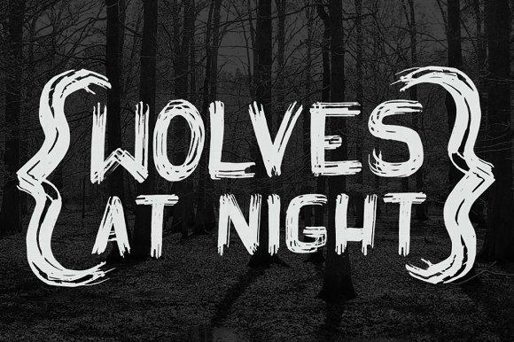Wolves at Night