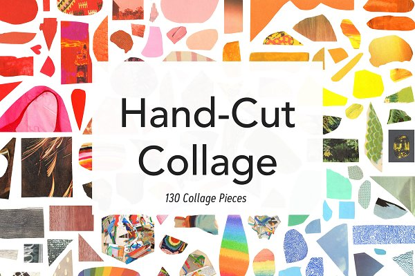 Hand Cut Collage Vol. 2