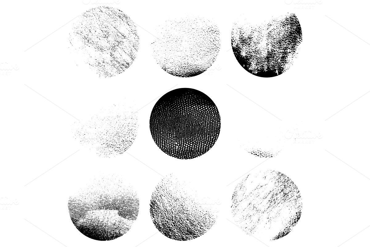 Grainy Circular Textures