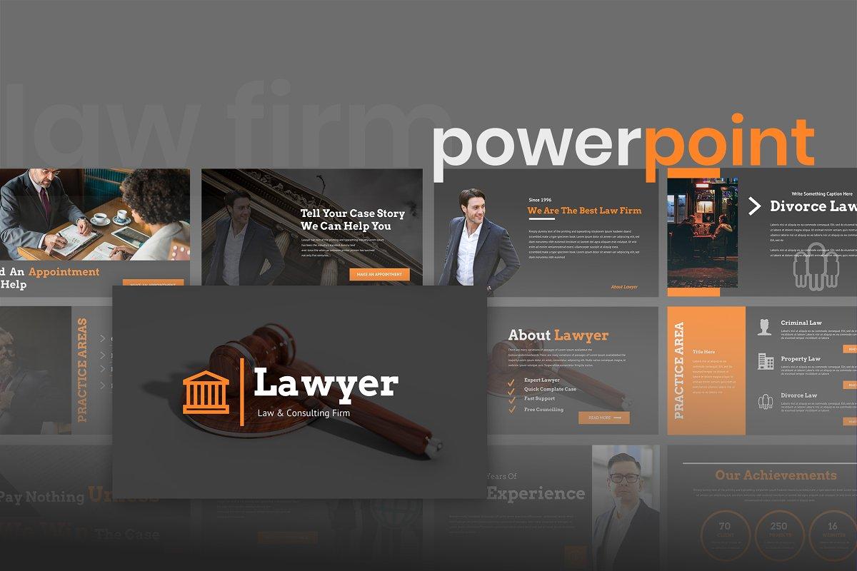 Lawyer Powerpoint Presentation Powerpoint Templates