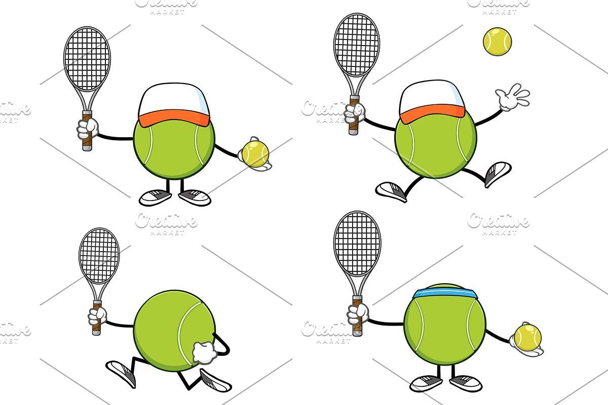 Tennis Ball Faceless. Collection 9