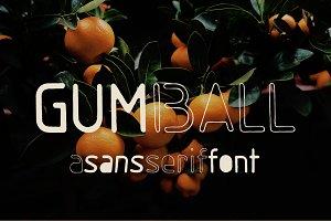 SALE! Gumball sans serif font ~ Sans Serif Fonts ~ Creative