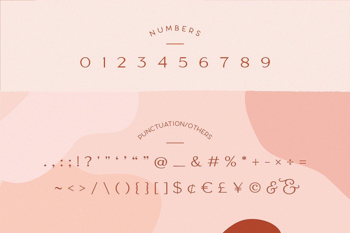 Classy Marisa - Elegant Typeface in Sans-Serif Fonts - product preview 8