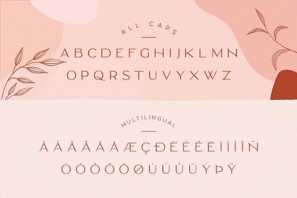 Classy Marisa - Elegant Typeface in Sans-Serif Fonts - product preview 1