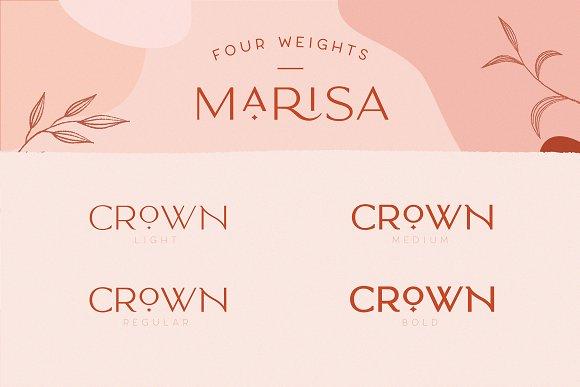 Classy Marisa - Elegant Typeface in Sans-Serif Fonts - product preview 2