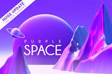Purple Space - HUGE UPDATE +160files by  in Other Software