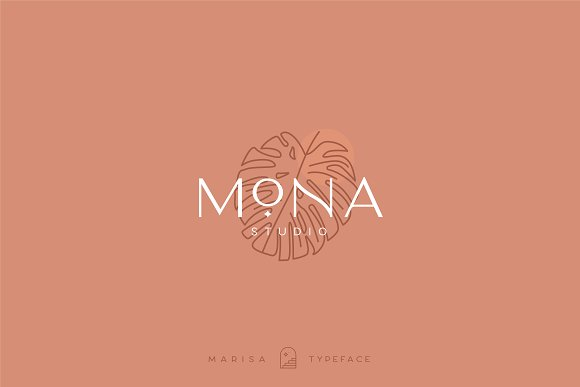 Classy Marisa - Elegant Typeface in Sans-Serif Fonts - product preview 9