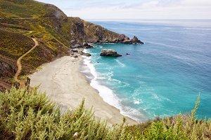 Pacific Coast Highway Beach