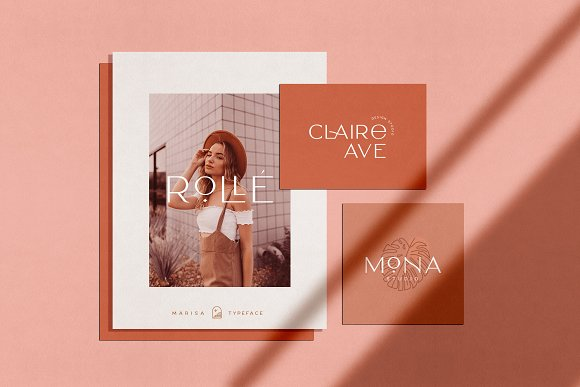 Classy Marisa - Elegant Typeface in Sans-Serif Fonts - product preview 15