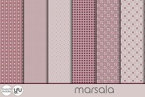 Geometric digital paper: MARSALA