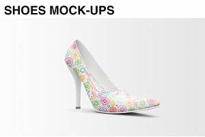 Shoes Mockup - High Heels Mockup