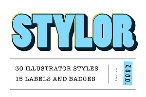 STYLOR - Styles, Labels & Badges No2