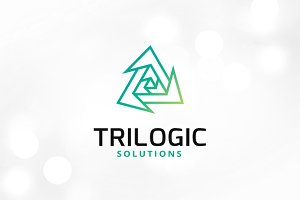 Trilogic Logo Template