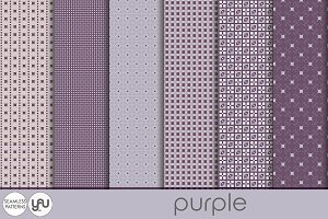 Geometric digital paper: PURPLE