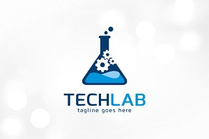 Tech Lab Logo Template