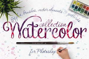 NEW! Watercolor collection (40% OFF)