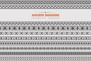 Vector Set - Ancient Borders