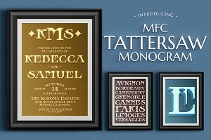 MFC Tattersaw Monogram -Layered Font
