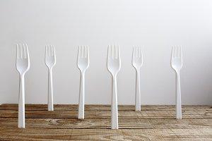 White forks