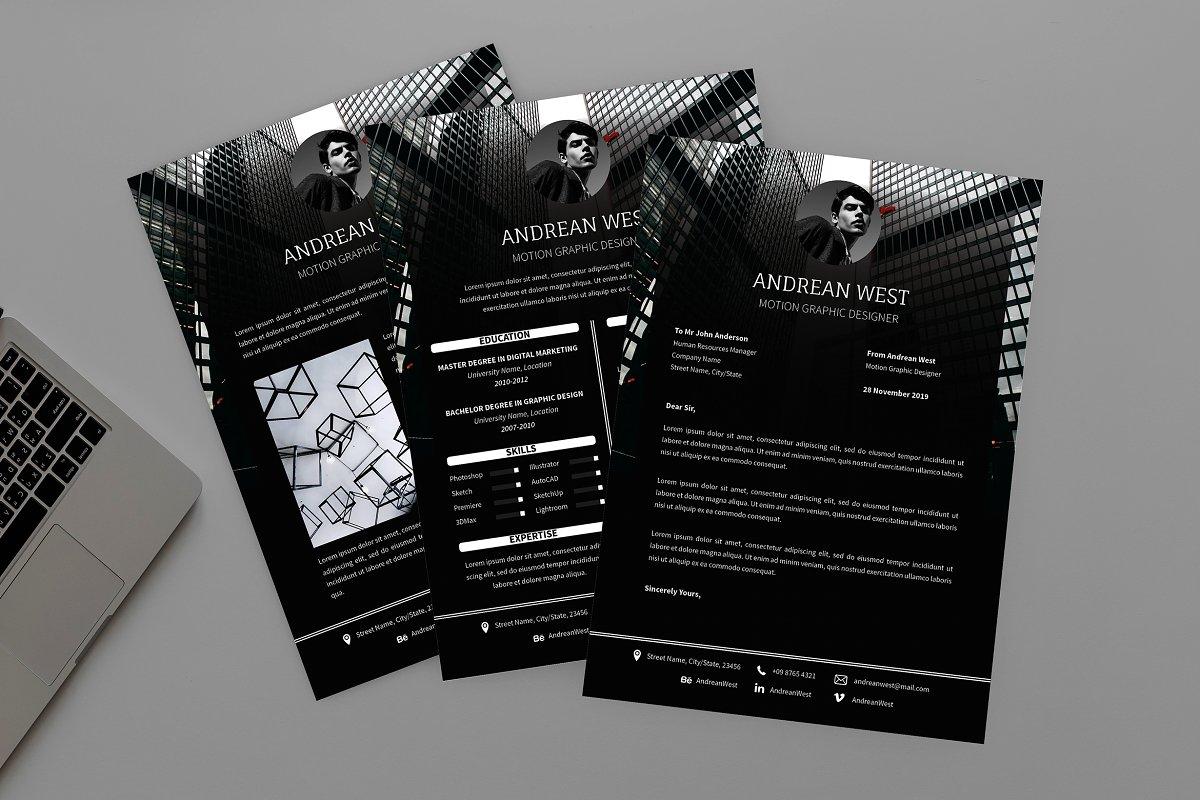 CV Notional Resume Designer ~ Resume Templates ~ Creative Market
