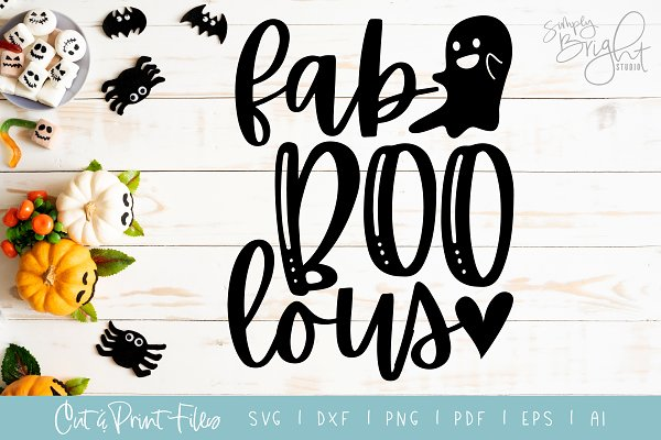 Spooktacular Halloween Svg Bundle Pre Designed Photoshop Graphics Creative Market