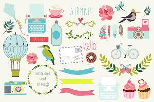 Cute Scrapbook set