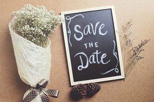 Save the date written on blackboard