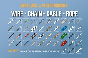 Wire Chain Cable Rope Brushes