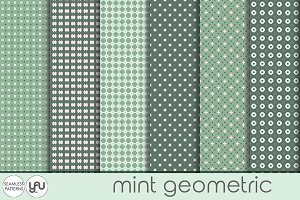 Geometric digital paper: MINT