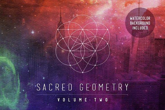 Sacred Geometry Vector Set Vol. 2 - Illustrations