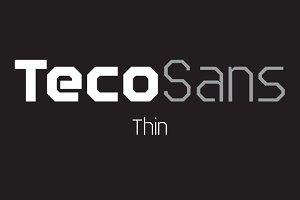 Teco Sans Thin