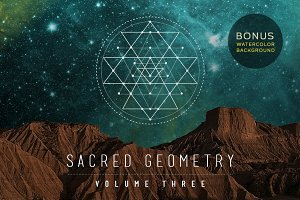Sacred Geometry Vector Set Vol. 3