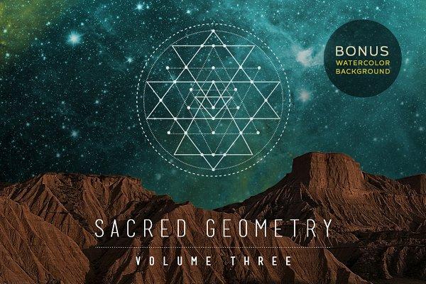 Sacred Geometry Vector Set Vol. 3