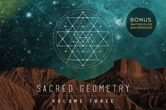 Sacred Geometry Vector Set Vol. 3 - Illustrations
