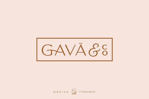 Classy Marisa - Elegant Typeface in Sans-Serif Fonts - product preview 19