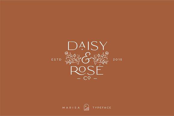 Classy Marisa - Elegant Typeface in Sans-Serif Fonts - product preview 21