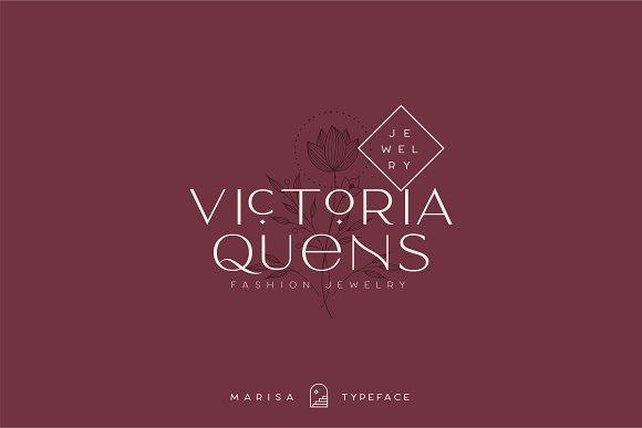 Classy Marisa - Elegant Typeface in Sans-Serif Fonts - product preview 22