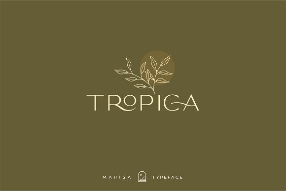 Classy Marisa - Elegant Typeface in Sans-Serif Fonts - product preview 23