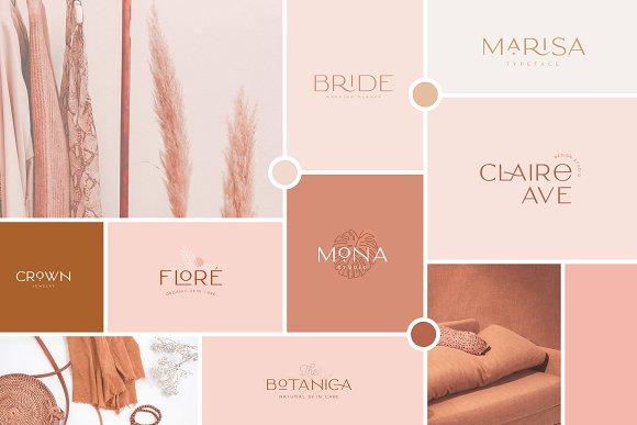 Classy Marisa - Elegant Typeface in Sans-Serif Fonts - product preview 27