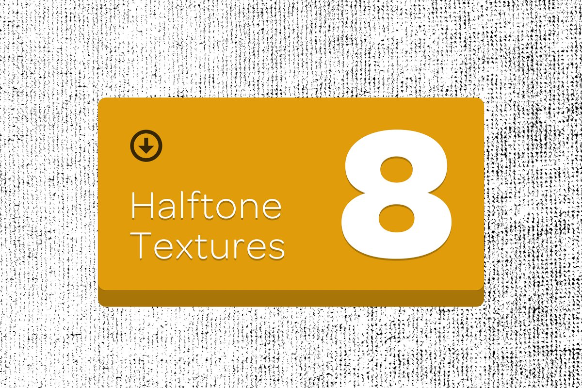 8 Halftone Textures in Textures - product preview 8