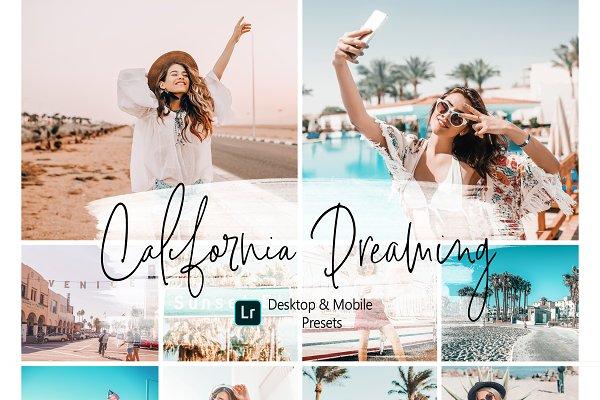 California Blogger Lightroom Presets
