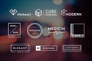 10 Minimalistic Logos Vol. 3