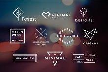10 Minimalistic Logos Vol. 2