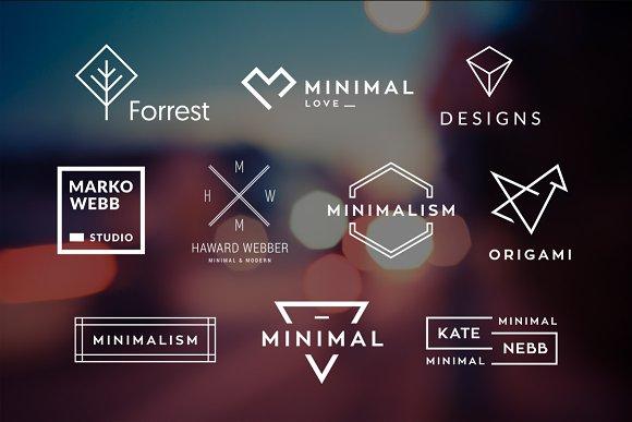 10 Minimalistic Logos Vol. 2 - Logos