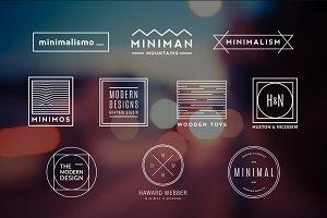 10 Minimalistic Logos Vol. 4