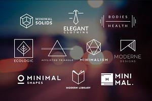 10 Minimalistic Logos Vol. 5